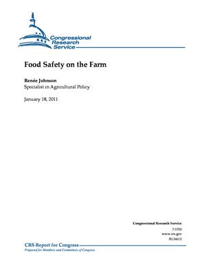 Food Safety on the Farm