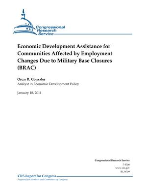 Economic Development Assistance for Communities Affected by Employment Changes Due to Military Base Closures (BRAC)