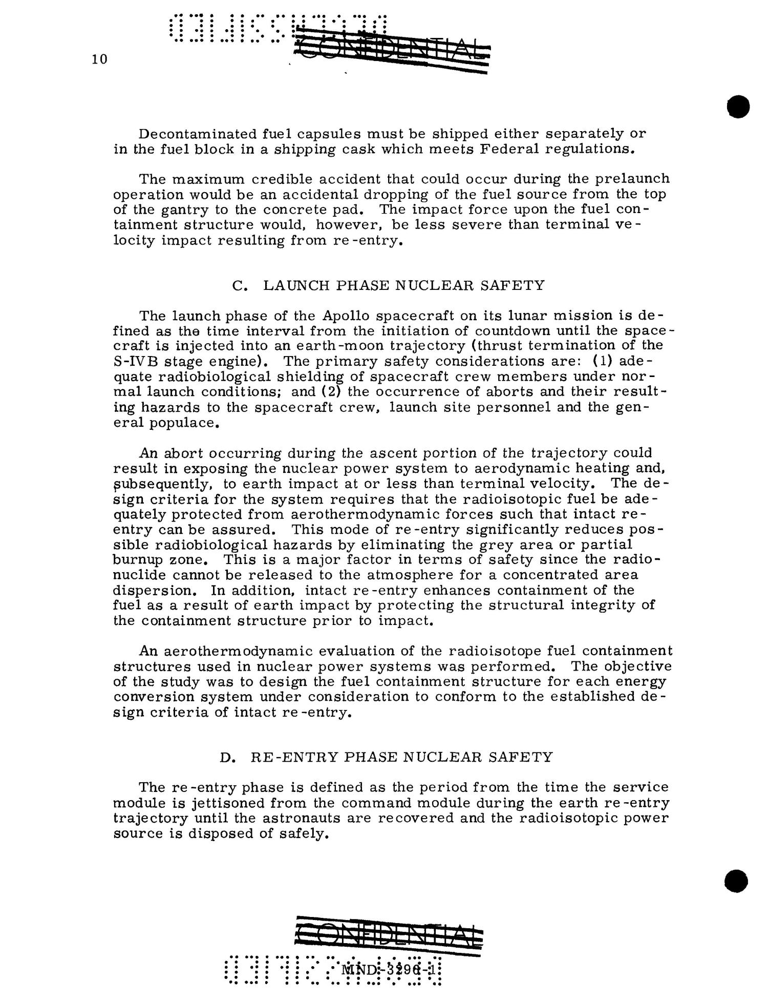 Feasibility of Isotopic Power for Manned Lunar Missions. Volume 1. Summary.                                                                                                      [Sequence #]: 21 of 61