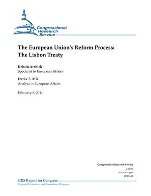 The European Union's Reform Process: The Lisbon Treaty