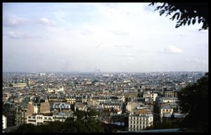 Primary view of object titled '[View from Montmartre]'.