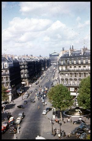 Primary view of object titled '[Avenue de l'Opera]'.