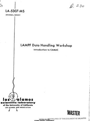 Primary view of object titled 'LAMPF data handling workshop. Introduction to CAMAC'.