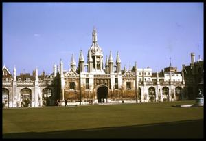 Primary view of object titled '[King's College Gatehouse]'.