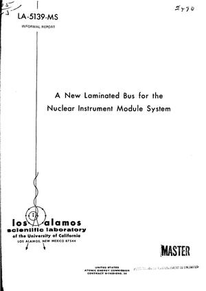 Primary view of object titled 'New laminated bus for the nuclear instrument module system.'.