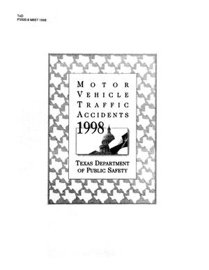 Primary view of object titled 'Motor vehicle traffic accidents 1998'.