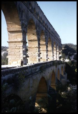 Primary view of object titled '[Pont du Gard]'.