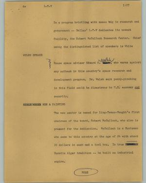 Primary view of object titled '[News Script: L-T-V]'.