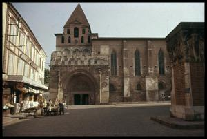 Primary view of object titled '[Saint Peter's Church Entrance]'.
