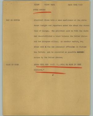 [News Script: Nixon]