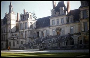 Primary view of object titled '[Château de Fontainebleau]'.