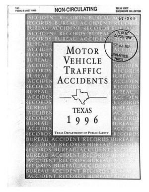 Primary view of object titled 'Motor vehicle traffic accidents 1996'.