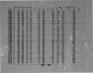 Hydrogeochemical and Stream Sediment Reconnaissance Basic Data for Presidio NTMS Quadrangle, Texas: Appendix C