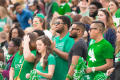 Thumbnail image of item number 1 in: '[UNT Students in the stands]'.