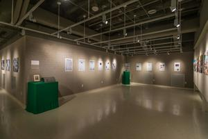 "Primary view of object titled '[UNT Union Gallery Hosting ""A Century of Excellence"", 3]'."