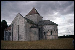 Primary view of object titled '[Lichères Church]'.