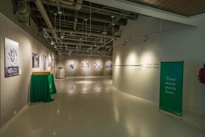 "Primary view of object titled '[UNT Union Gallery Hosting ""A Century of Excellence"", 2]'."