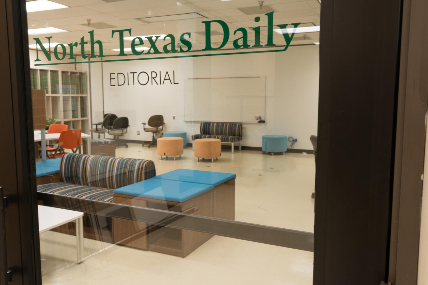 [North Texas Daily Editorial Offices]                                                                                                      [Sequence #]: 1 of 1