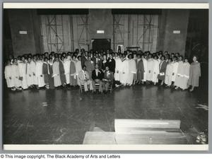 Primary view of object titled '[Black Music and the Civil Rights Movement Concert Photograph 2]'.