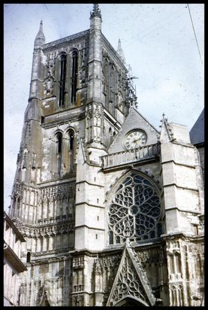 Primary view of object titled '[Angers Cathedral]'.