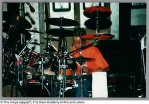 Primary view of object titled '[Drummer's Expo Photograph 22]'.