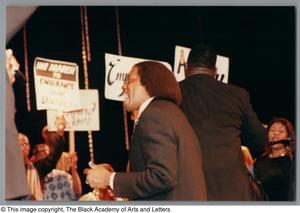 Primary view of object titled '[Black Music and the Civil Rights Movement Concert Photograph 11]'.