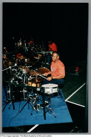 Primary view of object titled '[Drummer's Expo Photograph 26]'.
