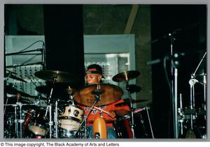 Primary view of object titled '[Drummer's Expo Photograph 19]'.