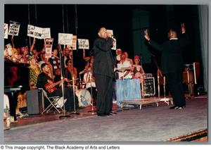 Primary view of object titled '[Black Music and the Civil Rights Movement Concert Photograph 15]'.