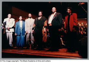 Primary view of object titled '[Black Music and the Civil Rights Movement Concert Photograph 31]'.
