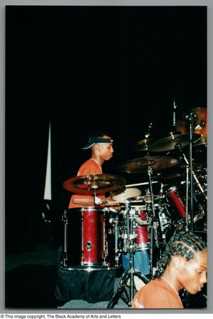 Primary view of object titled '[Drummer's Expo Photograph 32]'.
