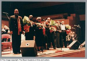Primary view of object titled '[Black Music and the Civil Rights Movement Concert Photograph 42]'.