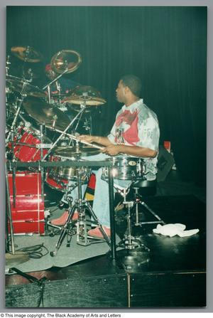 Primary view of object titled '[Drummer's Expo Photograph 21]'.