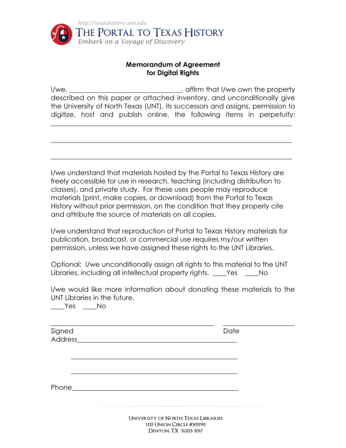 Appendix e portal memorandum of agreement for digital rights primary view of object titled appendix e portal memorandum of agreement for digital rights platinumwayz