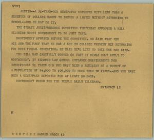 Primary view of object titled '[News Script: Lawyer]'.