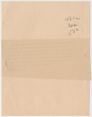 Primary view of object titled '[News Script: Ono Lennon Wedding]'.