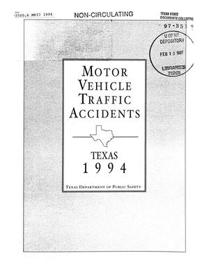 Motor vehicle traffic accidents 1994
