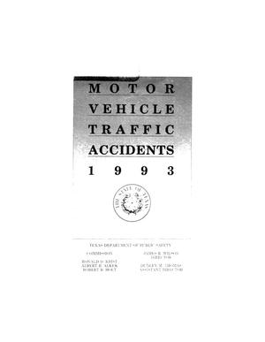 Primary view of object titled 'Motor Vehicle Traffic Accidents 1993'.