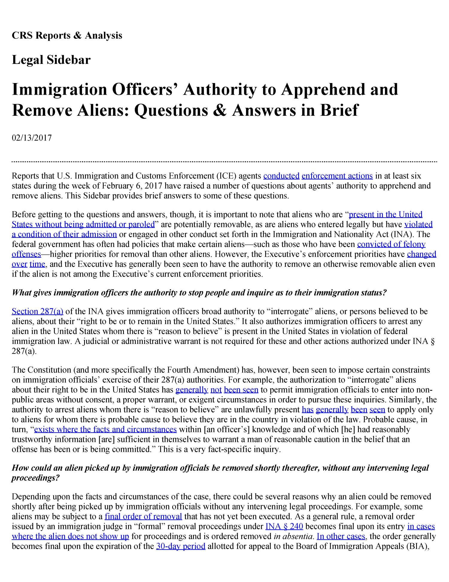 eisentrager law for immigrants and aliens Johnson v eisentrager the case is before us only on issues of law and the civil and property rights of immigrants or transients of.