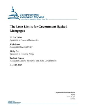 Primary view of object titled 'The Loan Limits for Government-Backed Mortgages'.