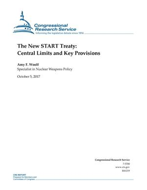 Primary view of object titled 'The New START Treaty: Central Limits and Key Provisions'.