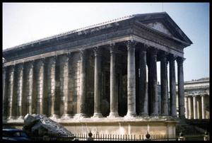 Primary view of object titled '[Maison Carrée]'.