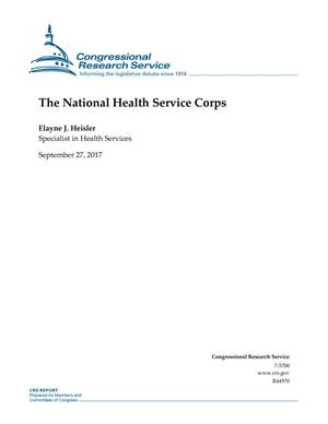 Primary view of object titled 'The National Health Services Corps'.
