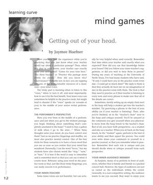Primary view of object titled 'Mind Games: Getting Out of Your Head'.