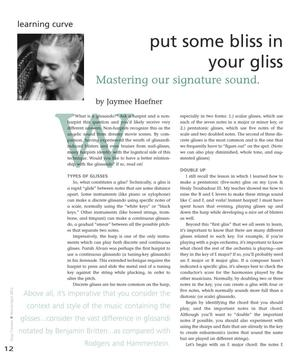 Primary view of object titled 'Put Some Bliss in Your Gliss: Mastering Our Signature Sound'.