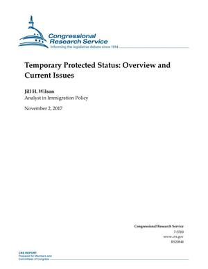 Primary view of object titled 'Temporary Protected Status: Overview and Current Issues'.