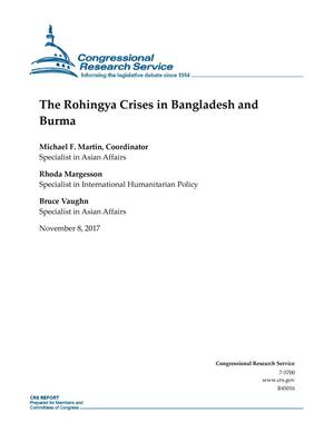 Primary view of object titled 'The Rohingya Crises in Bangladesh and Burma'.