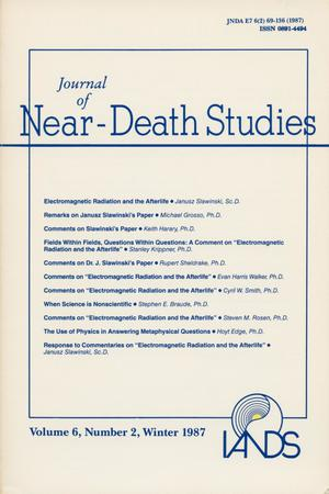 Primary view of object titled 'Journal of Near-Death Studies, Volume 6, Number 2, Winter 1987'.