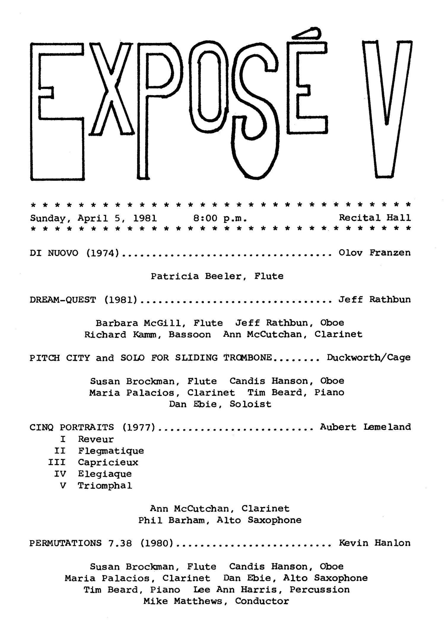april 05 1981