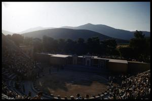 Primary view of object titled '[Epidaurus Theatre]'.